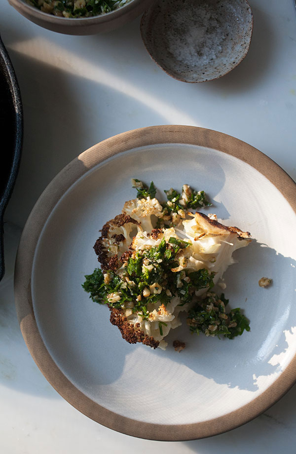 Roasted Cauliflower with Gremolata recipe
