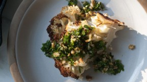 Roasted Cauliflower with Gremolata recipe