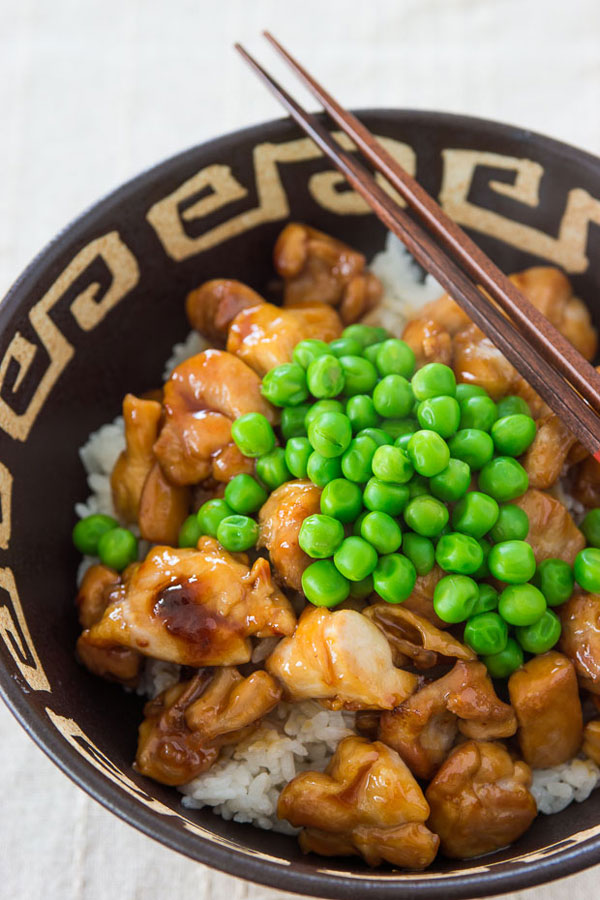 Teriyaki Chicken Bowl recipe