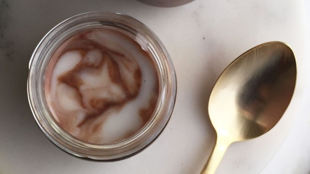 Coconut Chocolate Pudding recipe