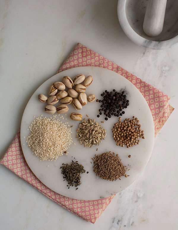 Dukkah Spice Mixture recipe