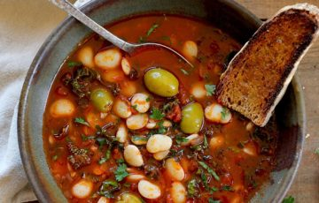Lima Bean Stew recipe