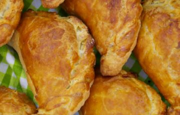 Minted Lamb Pasties recipe