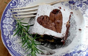 Rosemary Rye Brownies recipe