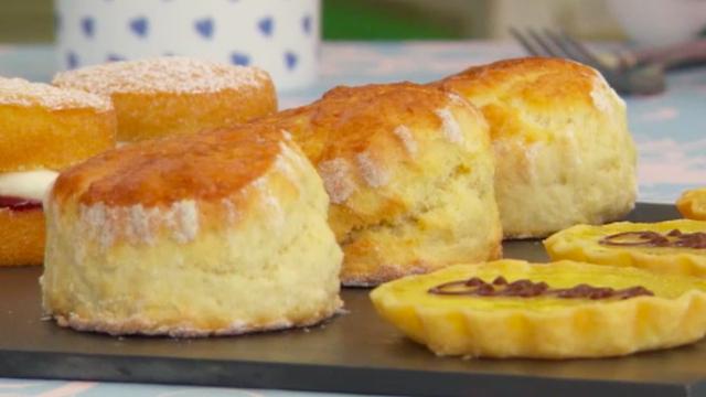 Tea Time Scones Recipe British Recipes Pbs Food