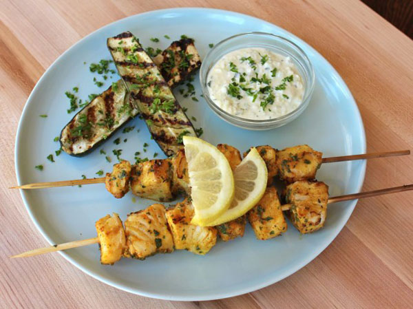 Fish Skewers recipe