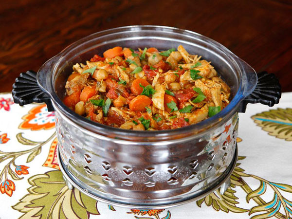 Chicken Chickpea Stew recipe