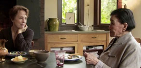 Alice Waters and Cecilia Chiang