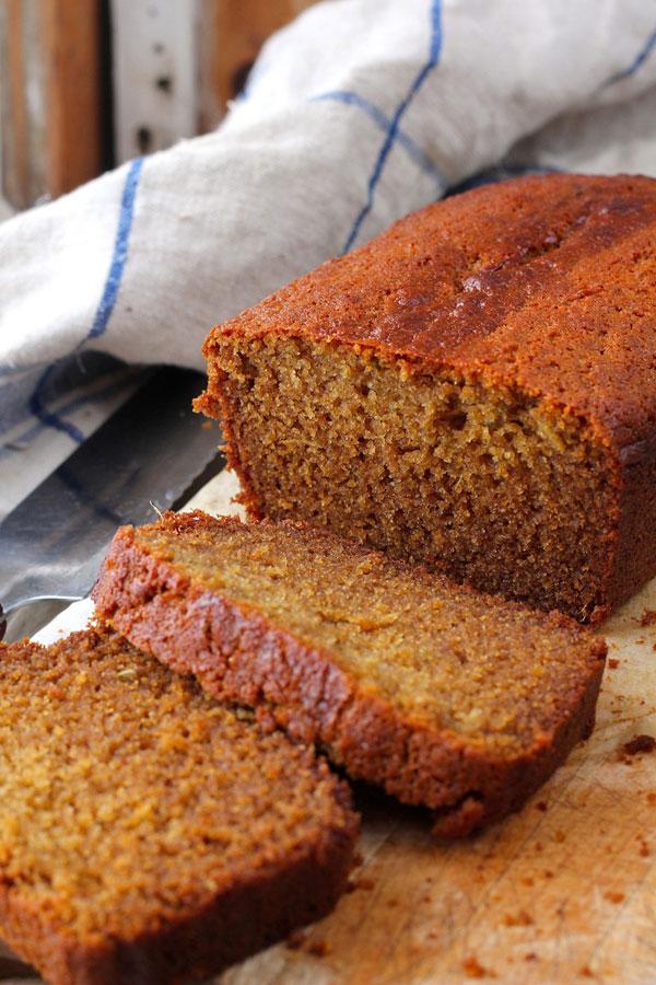 Honey Fennel Gingerbread Loaf recipe