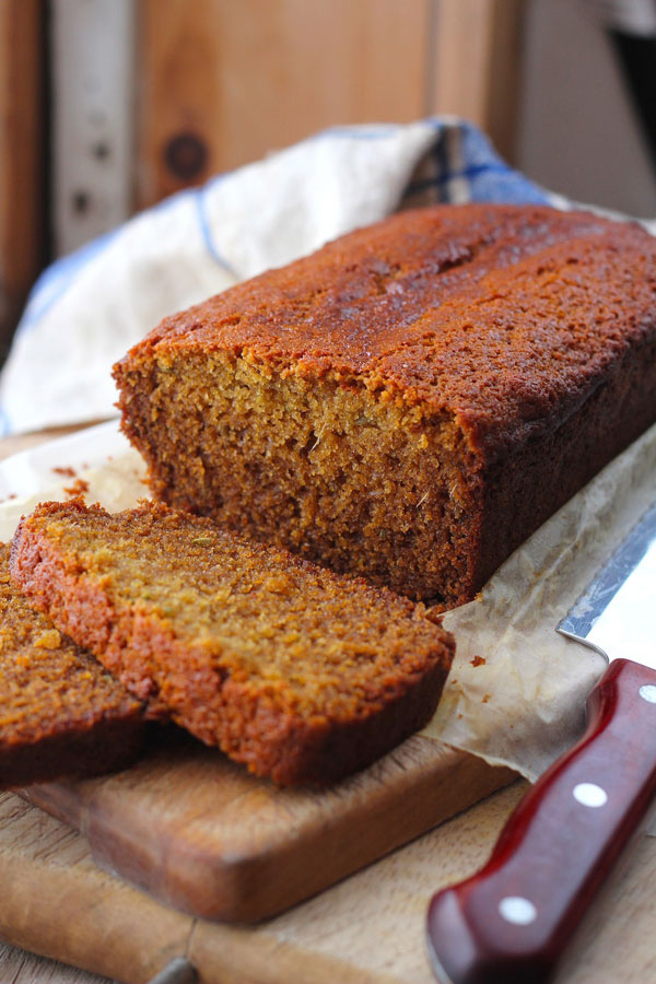 Honey Fennel Gingerbread Loaf recipe