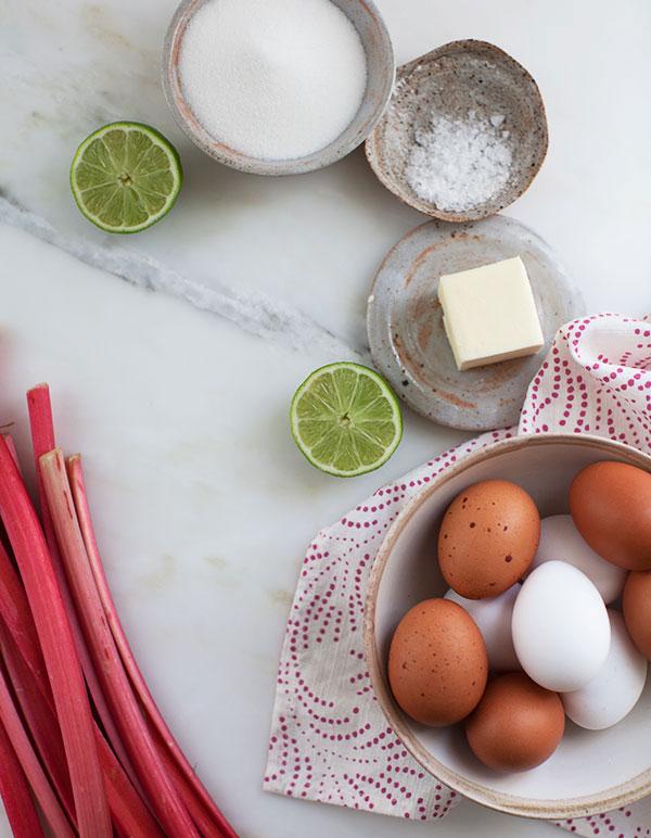 Rhubarb Curd recipe