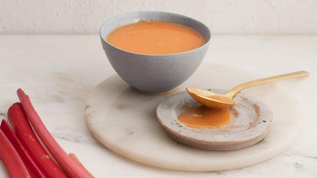 Rhubarb Curd Recipe | Fresh Tastes Blog | PBS Food