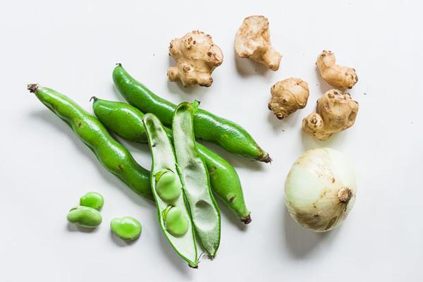 Spring Sunchoke Fava Bean Salad recipe