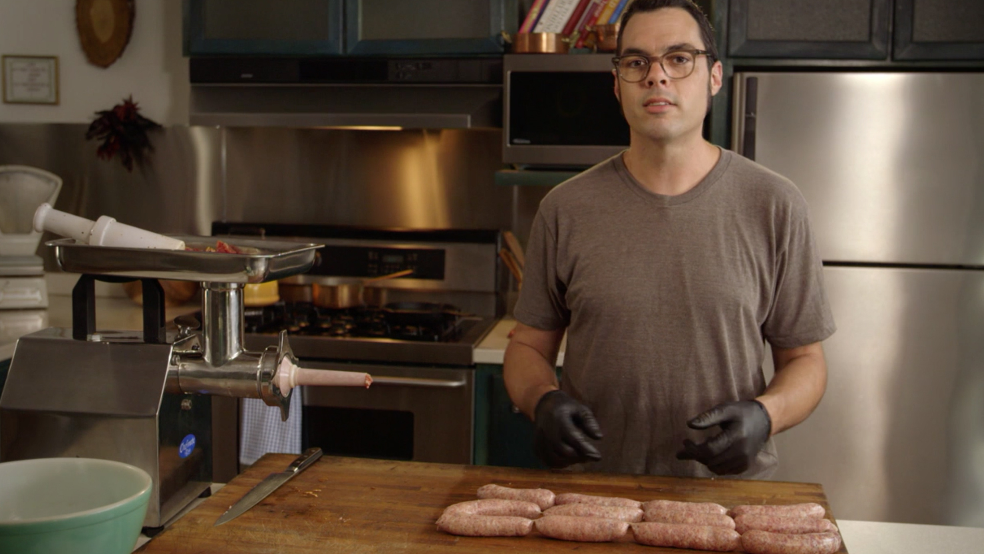 BBQ with Franklin - Episode 2: Sausage