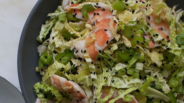 salad cabbage cups shrimp salad cabbage cups shrimp and cabbage salad ...