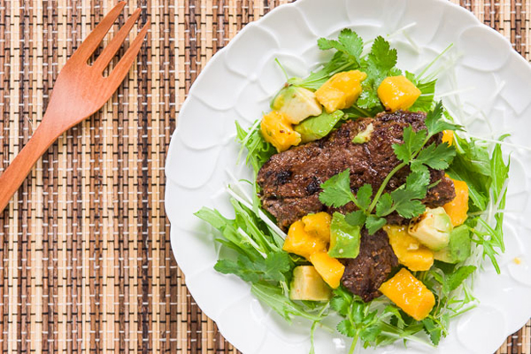 Tropical Beef Salad recipe