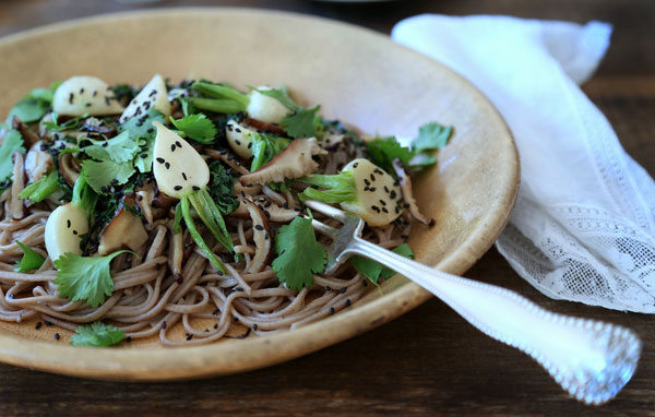 Hakurei Turnip Soba recipe
