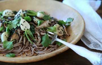Hakurei Turnip Soba recipe
