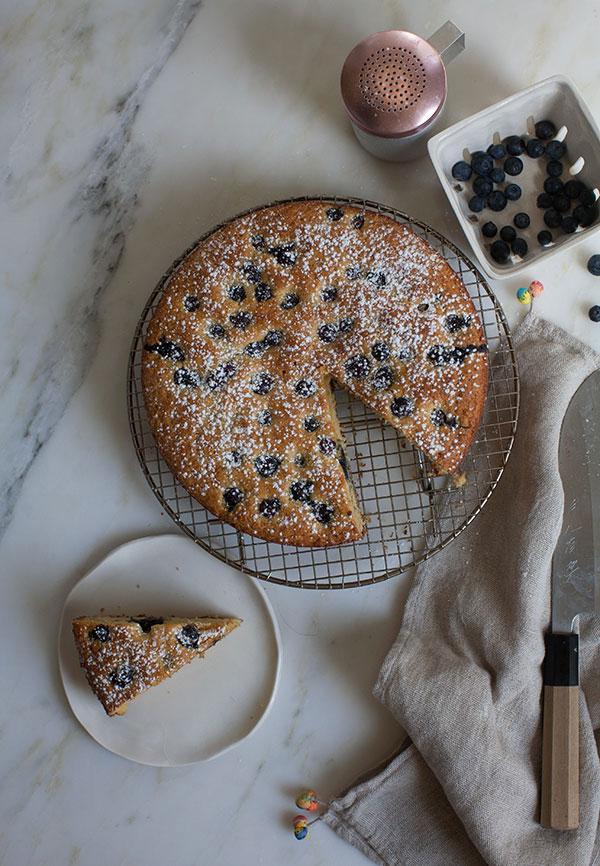 Honey Cornbread Snacking Cake recipe