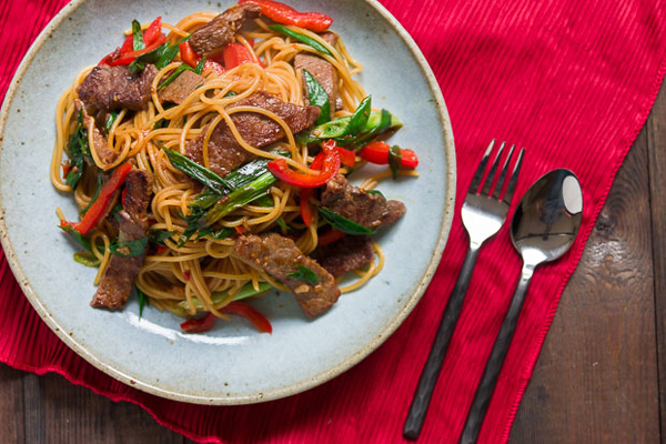 Meat pasta dishes recipes