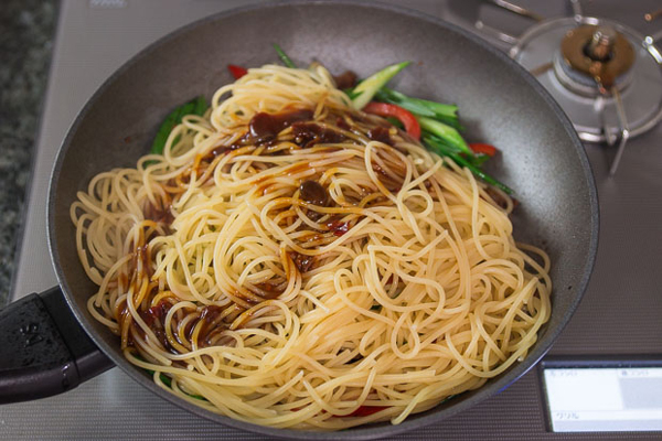 Mongolian Beef Pasta recipe