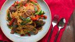 Mongolian Beef Pasta
