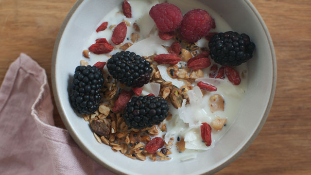 Seeded Granola recipe