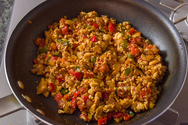 Southwest Tofu Scramble recipe