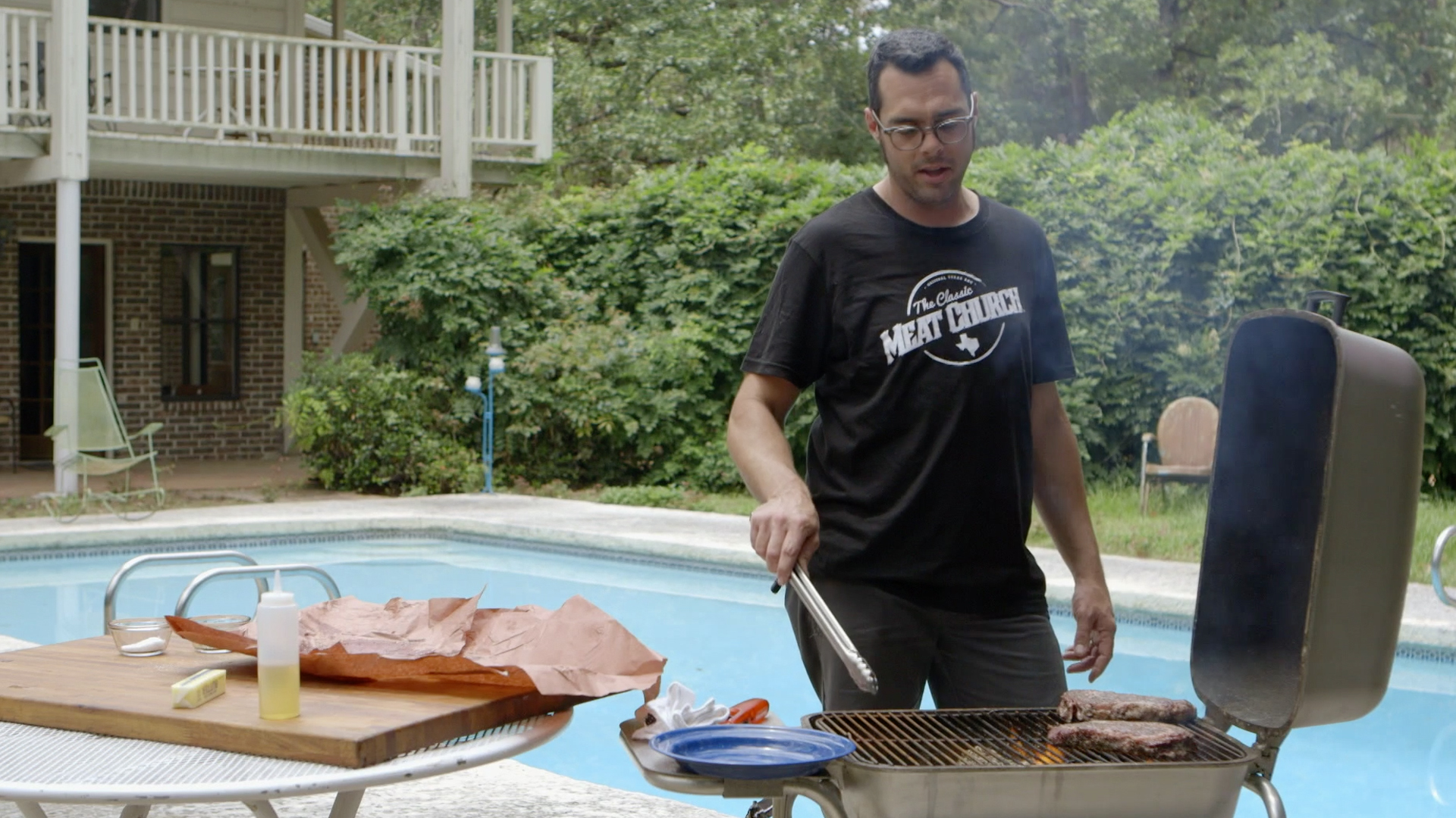 BBQ with Franklin - Episode 7: Direct Heat & Mesquite
