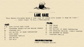 Lane Cake recipe from To Kill a Mockingbird