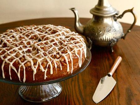 Sour Cream Coffeecake recipe