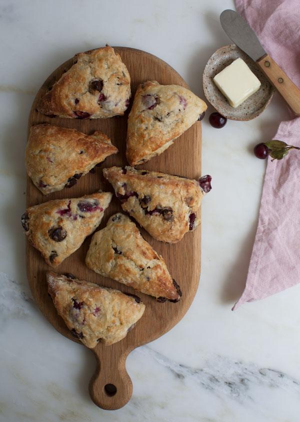Sour Cherry Chocolate Scones recipe
