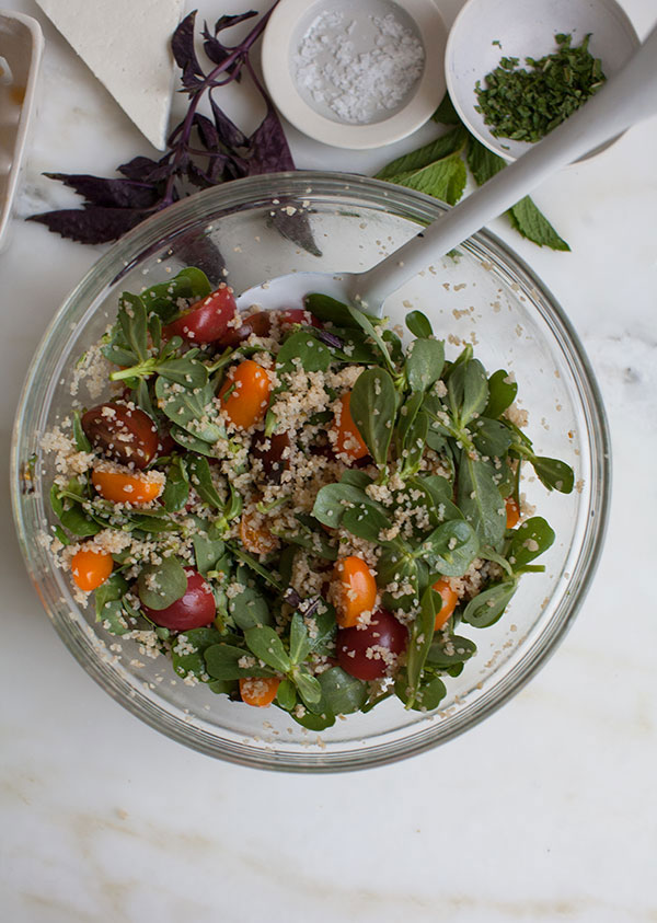 Tomato Bulgar Salad recipe