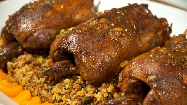 Louisiana Mallards In Mandarin Glaze Recipe Pbs Food