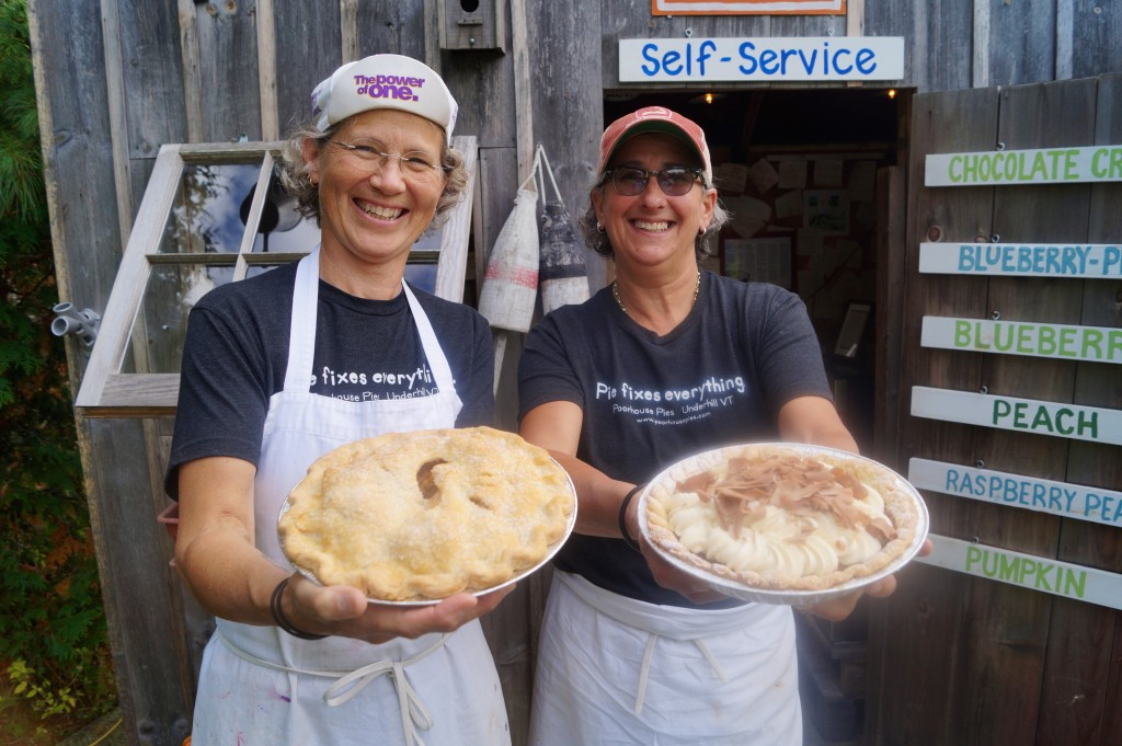Poorhouse Pies, Underhill, VT