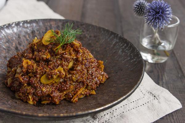 Apricot and Almond Quinoa Pilaf recipe