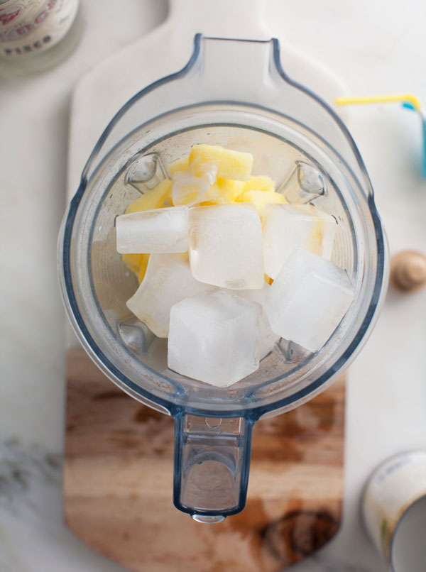 Pineapple Pisco Coconut Cooler recipe