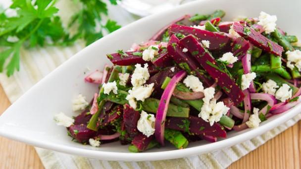 Roast Beet and Green Bean Salad recipe