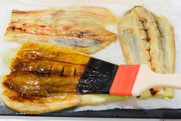 Roasted Eggplant Donburi recipe