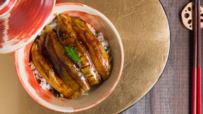 Roasted Eggplant Donburi recipe