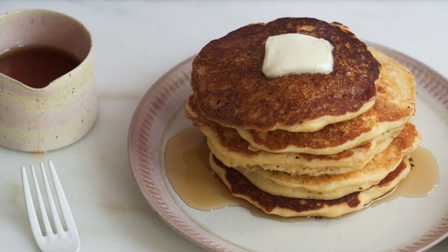 Sweet Corn Pancakes Recipe | Fresh Tastes Blog | PBS Food