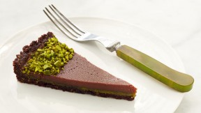 Milk Chocolate Pistachio Tart recipe