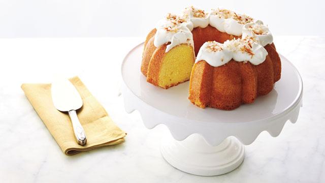 Martha Stewart Delicate Coconut Lemon Cake