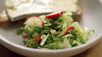 Shaved Celery, Fennel, and Radish Salad