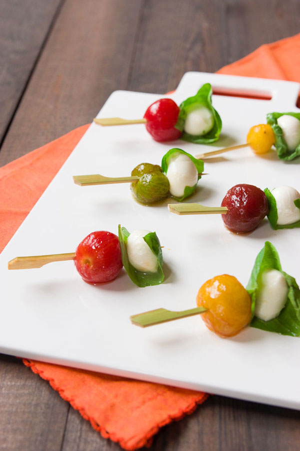 Bite-Sized Caprese Salad recipe