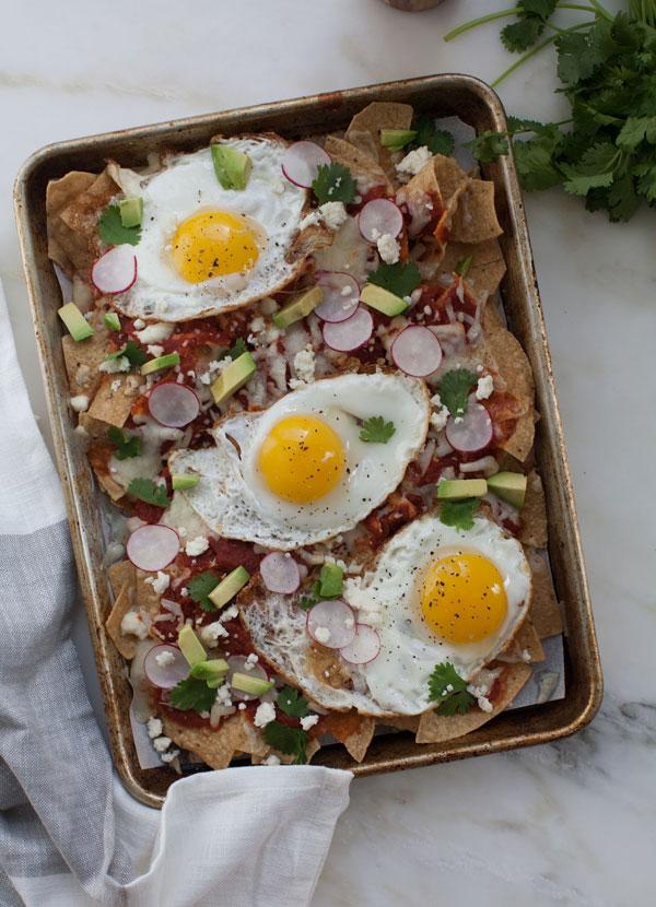 Chilaquiles recipe