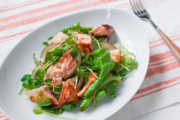 Hoisin Salmon Salad recipe