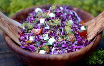 Rye Berry Salad recipe