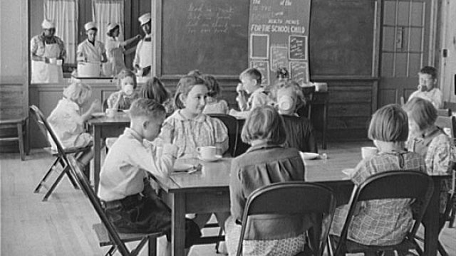 History of School Lunch