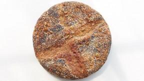 No-Knead Seeded Overnight Bread recipe